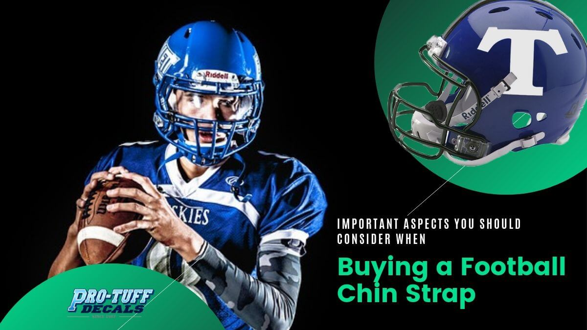 Important Aspects You Should Consider When Buying a Football Chin Strap