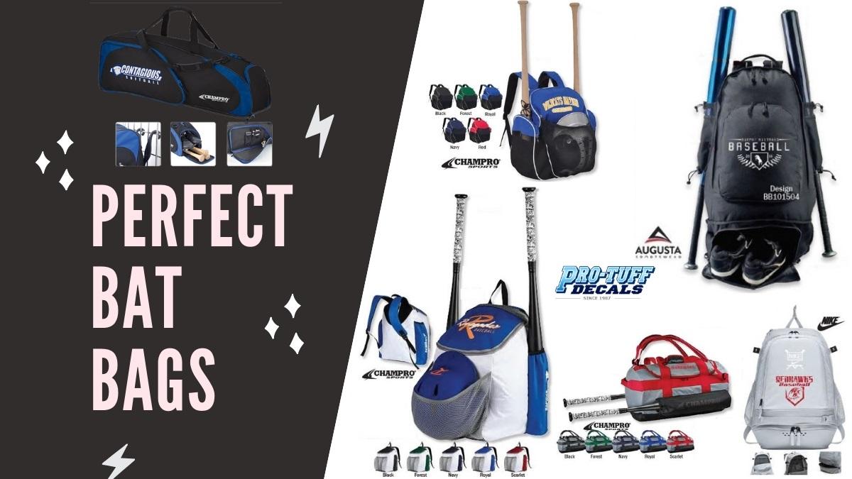 Perfect bat bags for baseball & softball