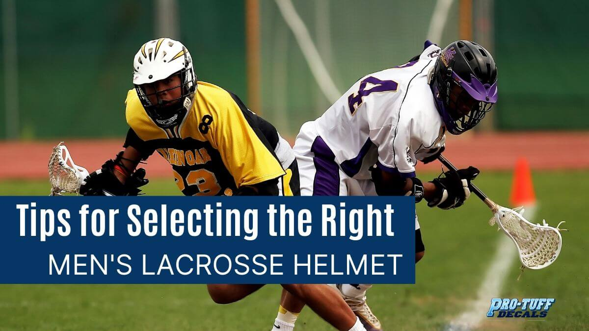 Tips for Selecting the Right Men's Lacrosse Helmet