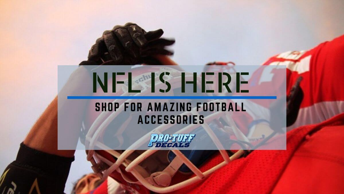 Ready to shop football accessories