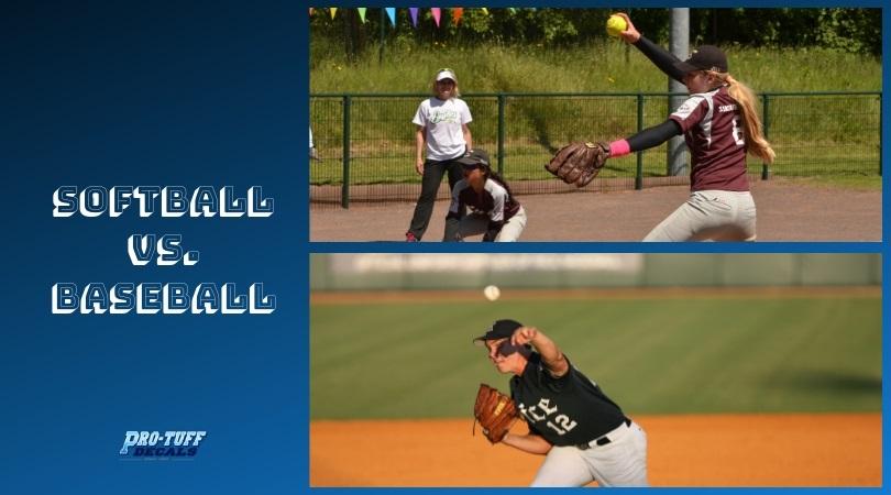 Softball Vs  Baseball: What Are the Similarities and