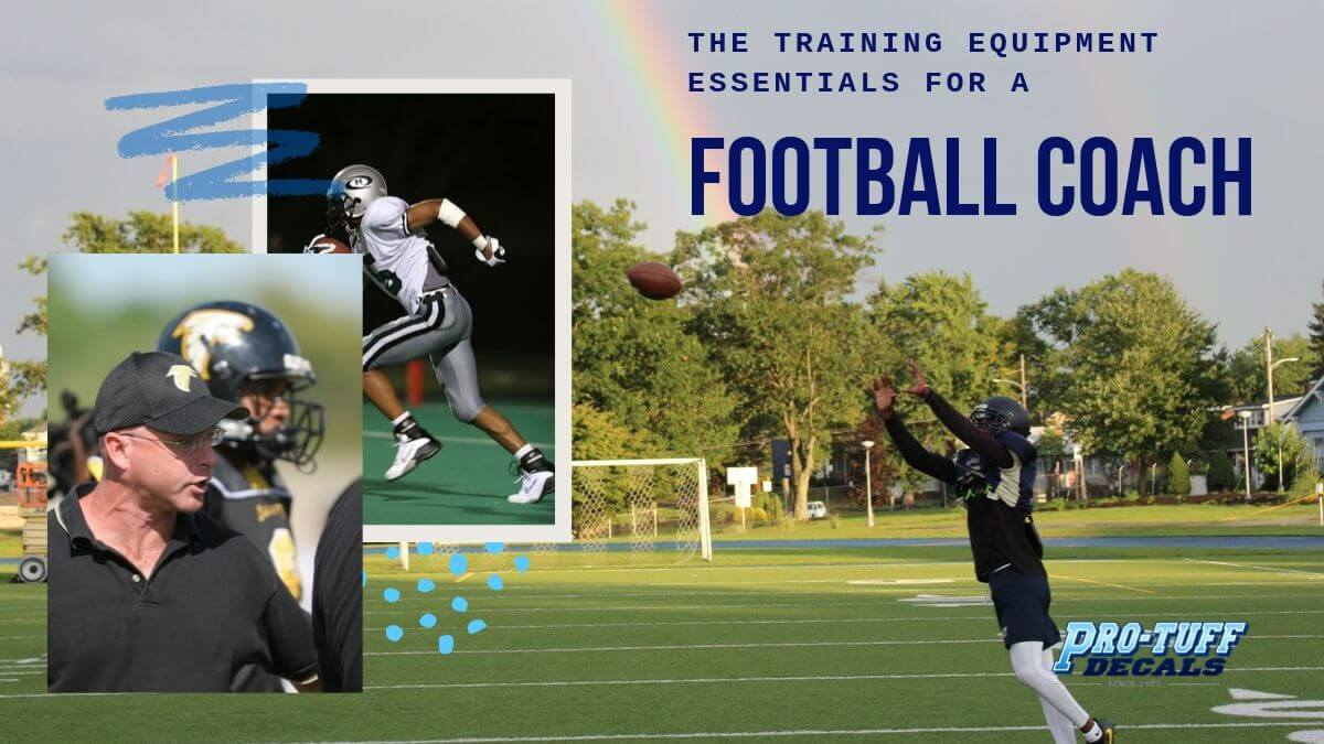The Training Equipment Essentials for a Football Coach