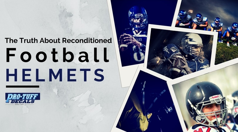 Truth about reconditioned football helmets