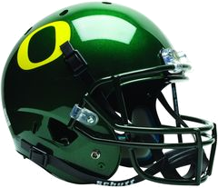 Oregon Ducks Football Helmets