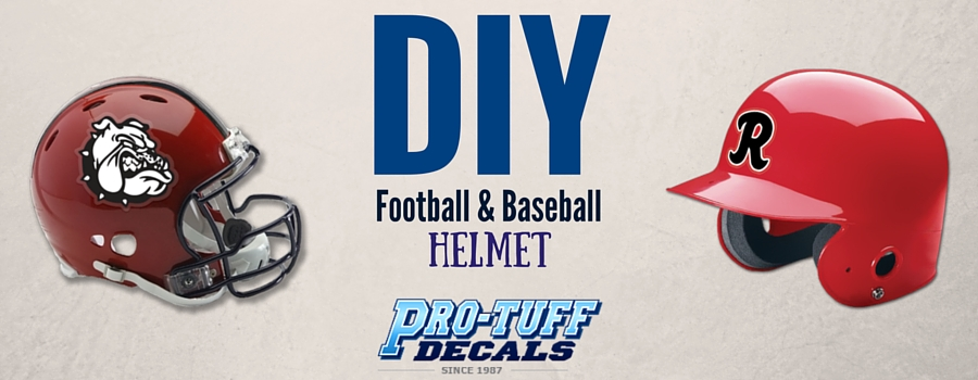 DIY Tips for Old Football and Baseball Helmet