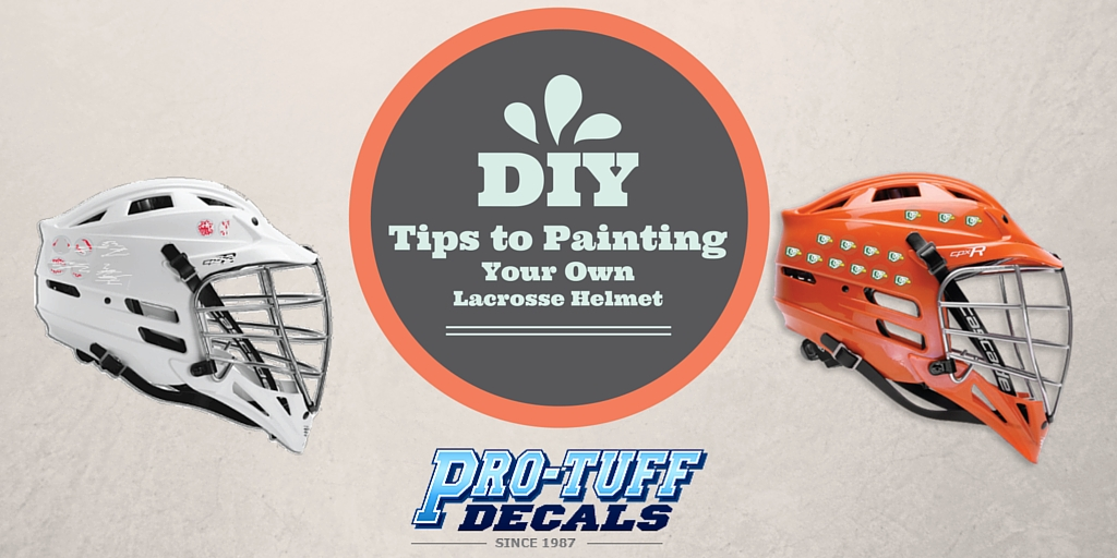 DIY Tips to Painting Your Own Lacrosse Helmet