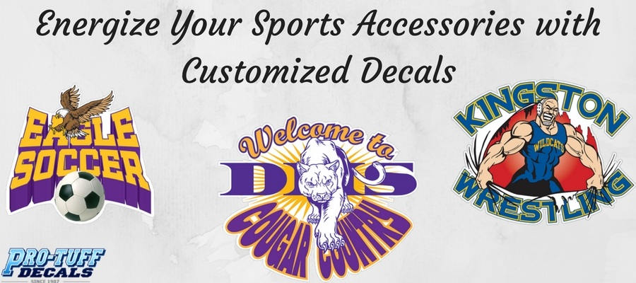 Energize Your Sports Accessories with Customized Decals