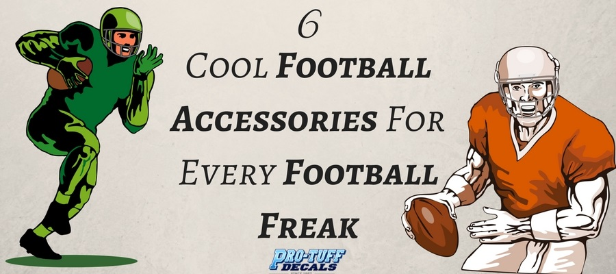 6 Cool Football Accessories For Every Football Freak
