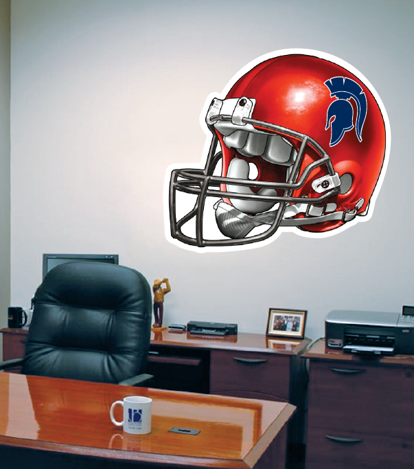 ... Wall Decals OF Football Helmet