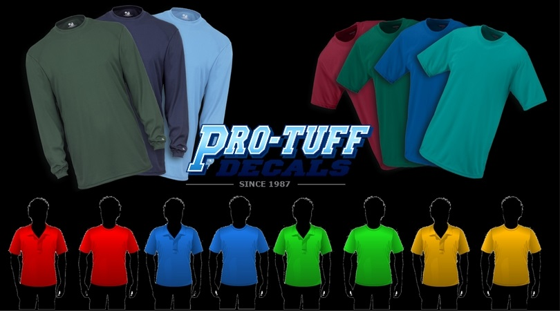 Variety of Colors in T-Shirt
