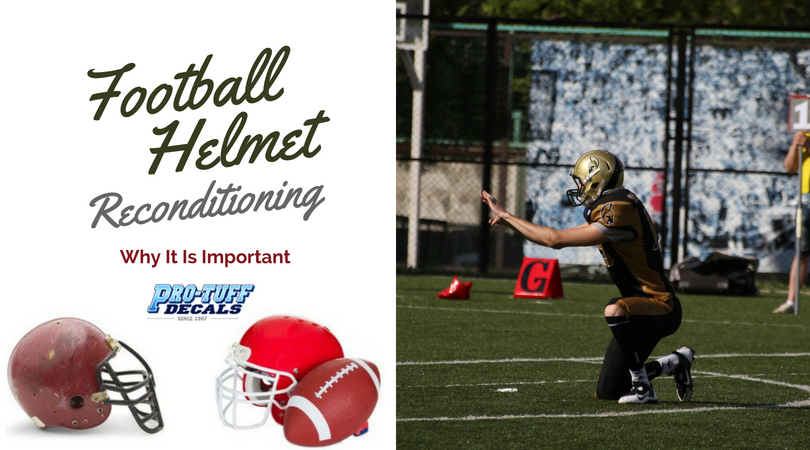 Football Helmet Reconditioning: Why It Is Important