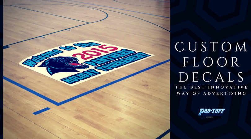 Custom Floor Decals: The Best Innovative Way of Advertising