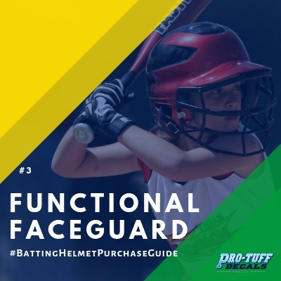 Baseball Helmet Purchase Guide-Functional Faceguard