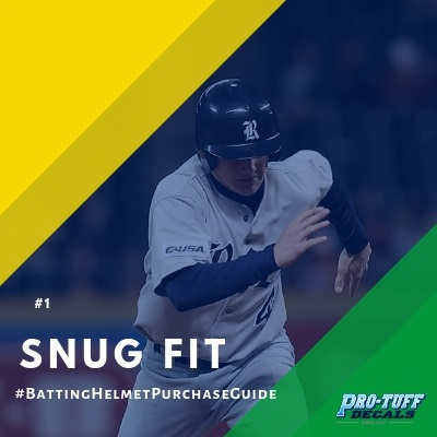 Baseball Helmet Purchase Guide Snug Fit