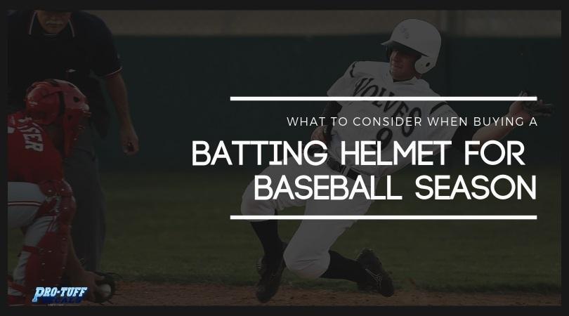 Tips to buy batting helmet for Baseball season