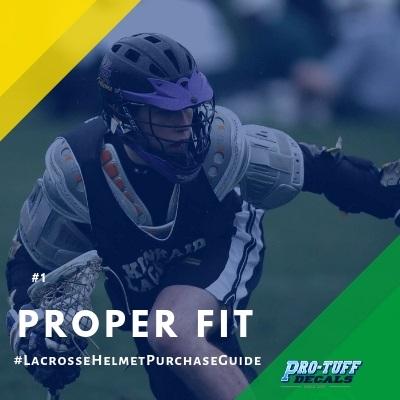 Lacrosse Helmet Purchase Guide - Proper Fit