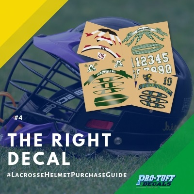 Lacrosse Helmet Purchase Guide - The Right Decal