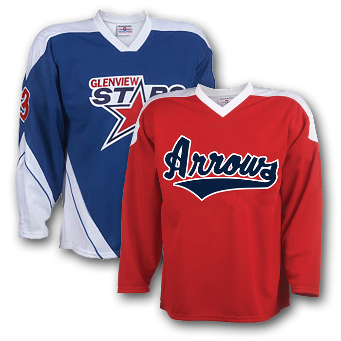 Hockey Jerseys & Uniforms