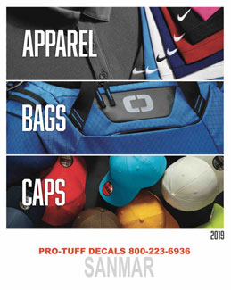 Apparel, Bags and Caps