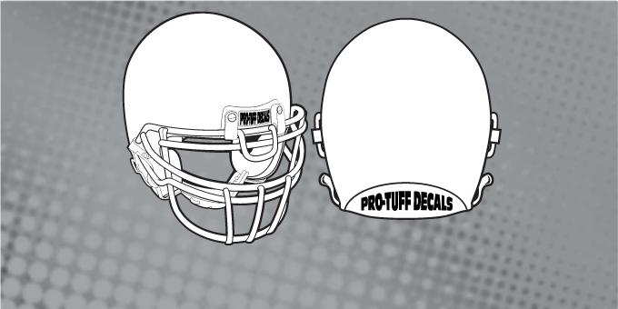 Details about  /DENVER BRONCOS FULL SIZE FOOTBALL HELMET DECALS W//STRIPES /& BUMPERS