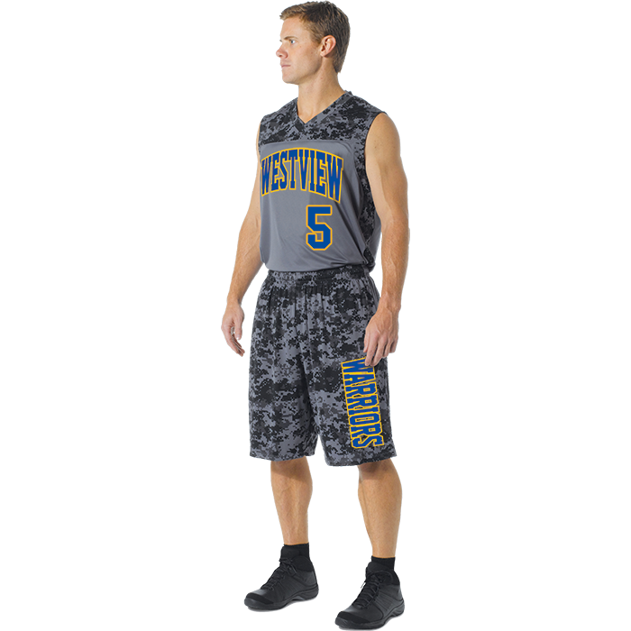 A4 Printed CAMO Performance Uniform
