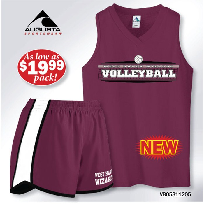 AUGUSTA VOLLEYBALL UNIFORM PACK
