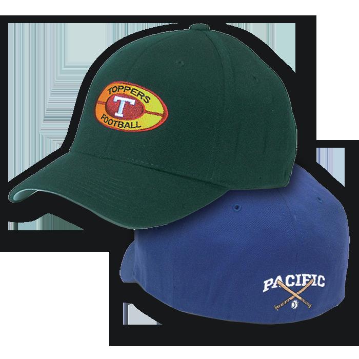 3cfd1eceb9229 P801F Pacific Headwear Wool Universal Fit Cap 801F