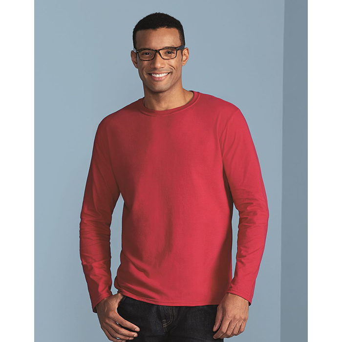 G64400 Gildan SoftStyle Long Sleeve Semi-Fitted T-Shirt