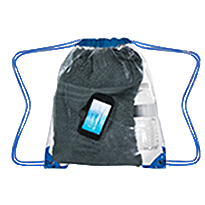 H3602 Clear Drawstring Backpack