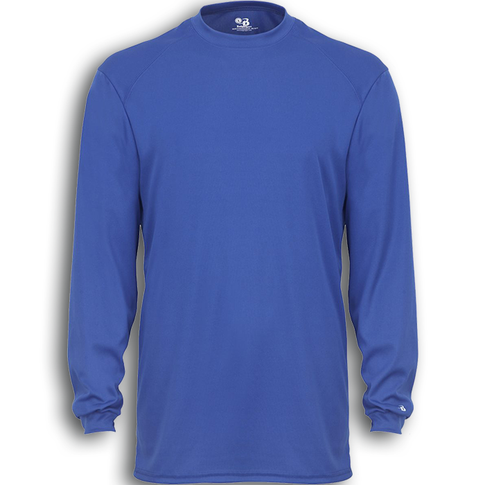 B4804 BADGER B-TECH LONG SLEEVE TEE