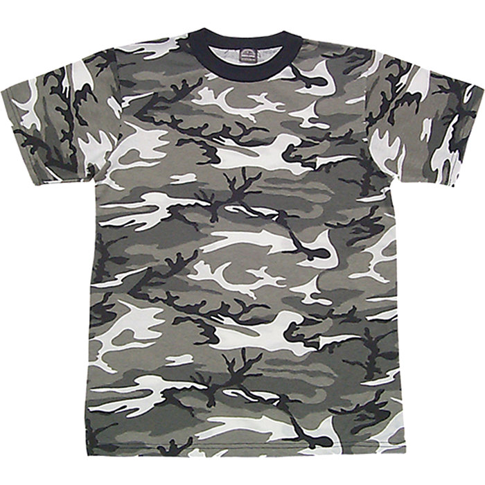 Custom adult camouflage tees pro tuff decals for Camouflage t shirt design
