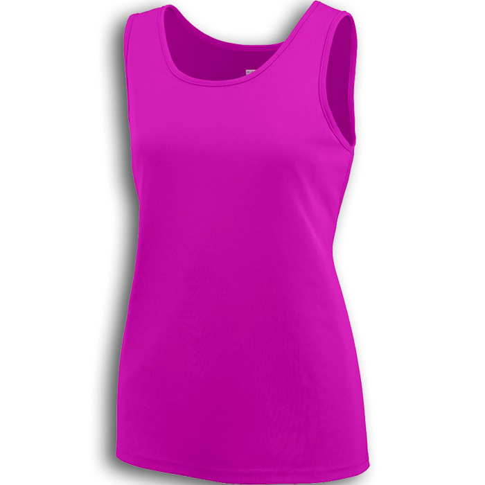 A1705 Augusta Ladies Wicking Tank Top