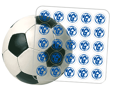 Award Decals Soccer