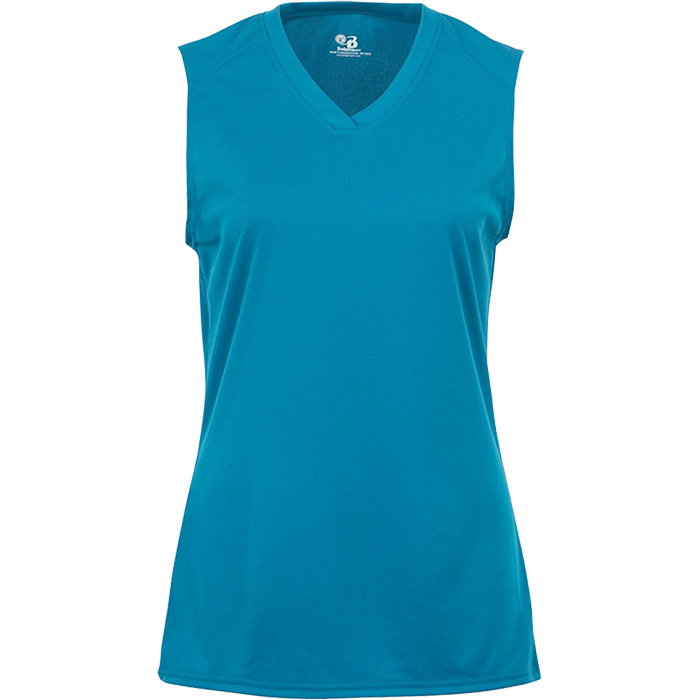 B4163 Ladies Sleeveless Tee