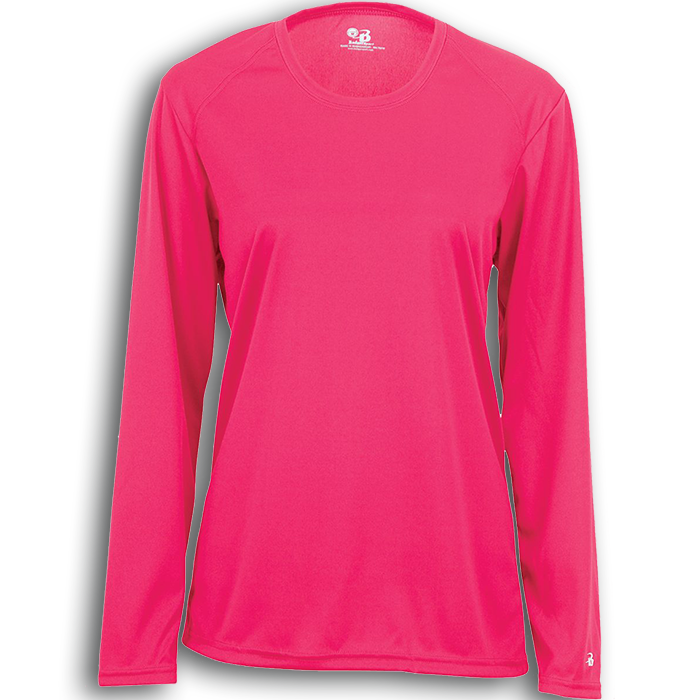 B4164 Badger B-Core Ladies Long Sleeve