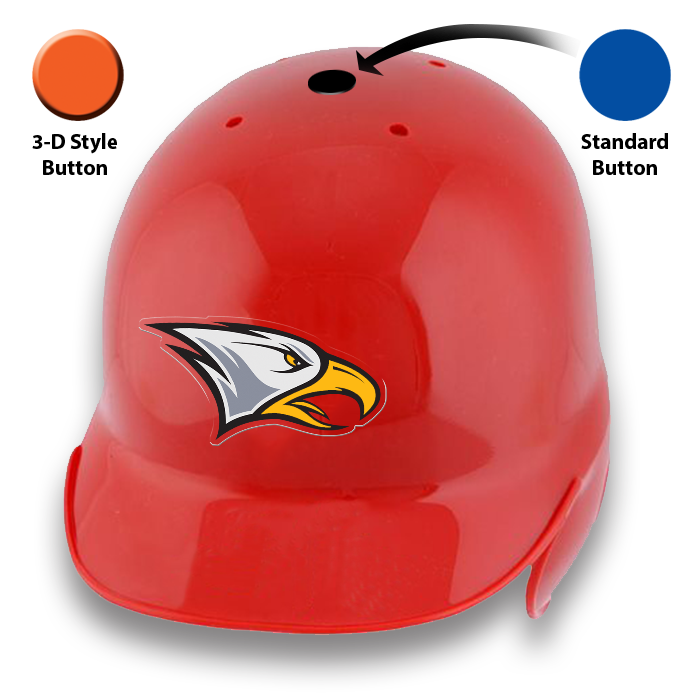 BATTERS HELMET CAP BUTTON DECALS
