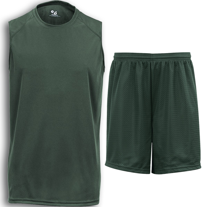 BCSP101 BADGER B-CORE SLEEVELESS + MESH PACK
