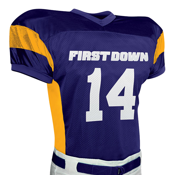 CFJ14 First Down Poly Dazzle Jersey