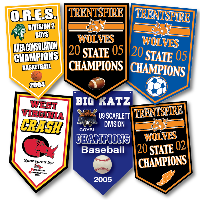 CHAMPIONSHIP STYLE BANNER
