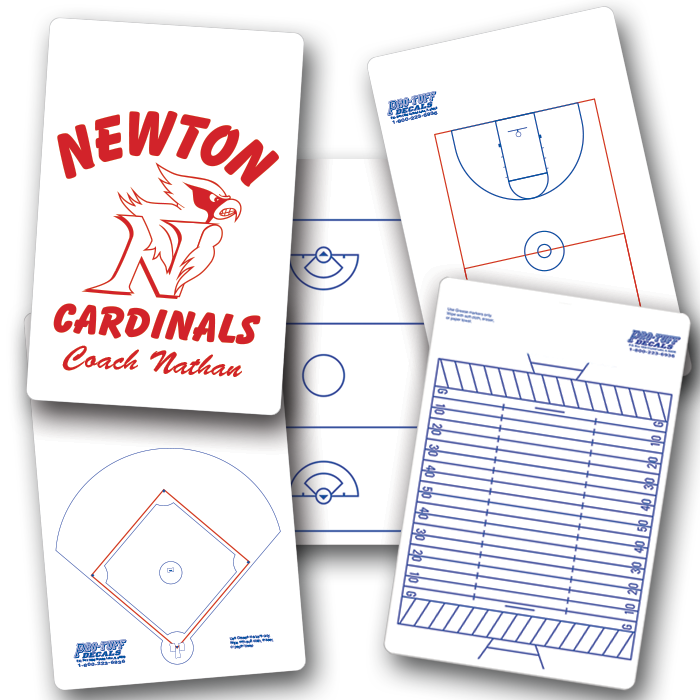 COACHING CLIP BOARDS