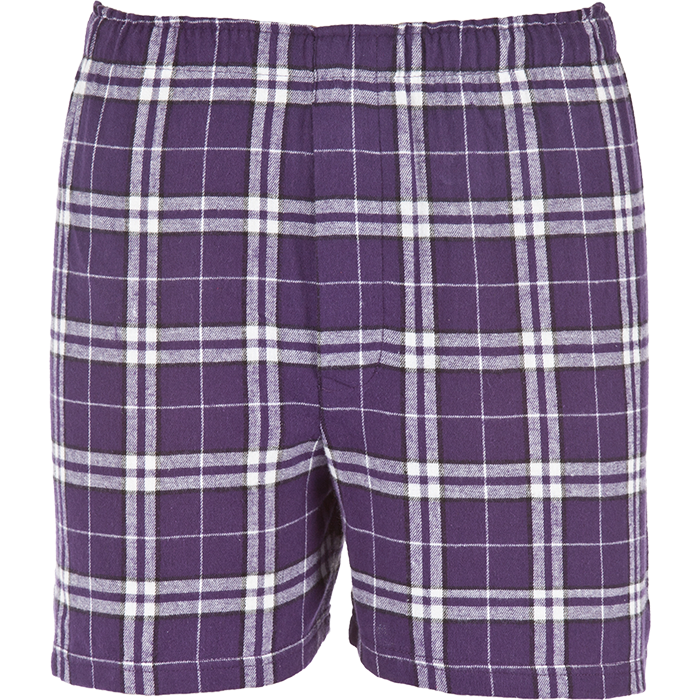 BF48 GUY'S FLANNEL BOXERS WITH POCKETS