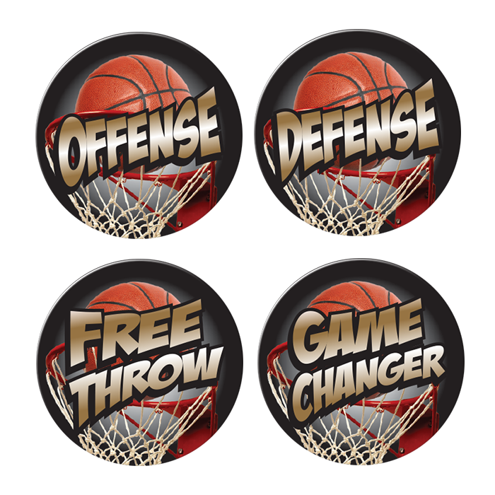 low priced e5b16 c6f51 FULL COLOR BASKETBALL AWARD DECALS