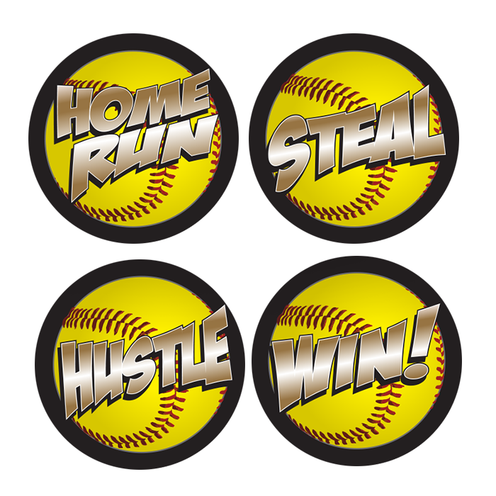 Softball Helmet Decals | Pro-Tuff Decals