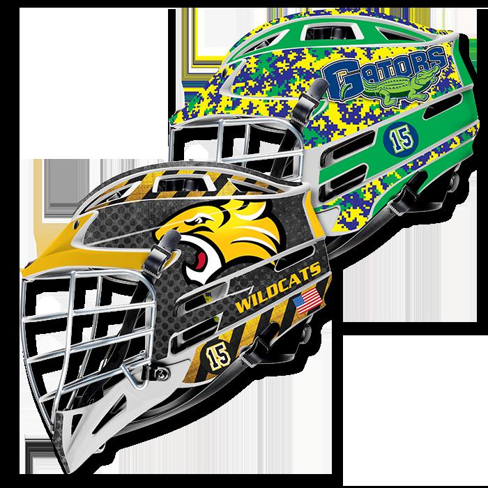 Lacrosse helmet decals helmet wraps view