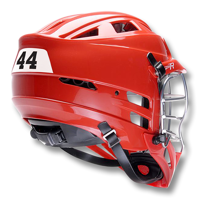 OPN175 Lacrosse Back Number Decals