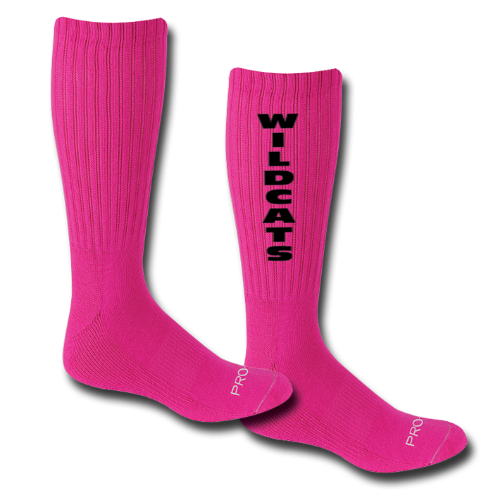 PF215 Performance Pink Crew Socks