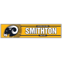 PERSONALIZED LOCKER NAMEPLATES
