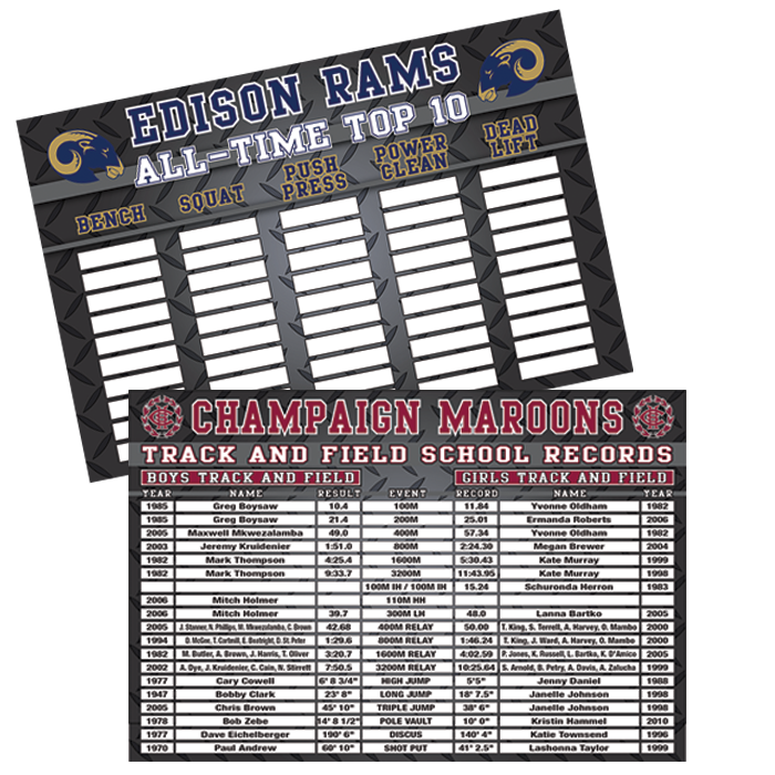 Record Boards