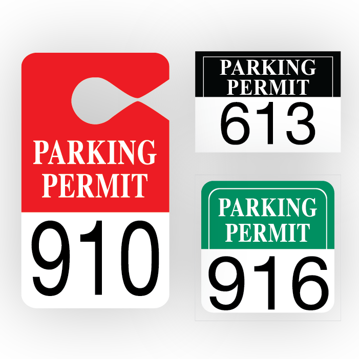 STOCK QUICK PARKING PERMITS