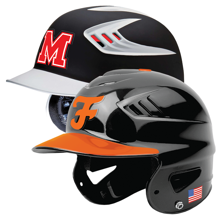 STOCK BATTER HELMET DECALS